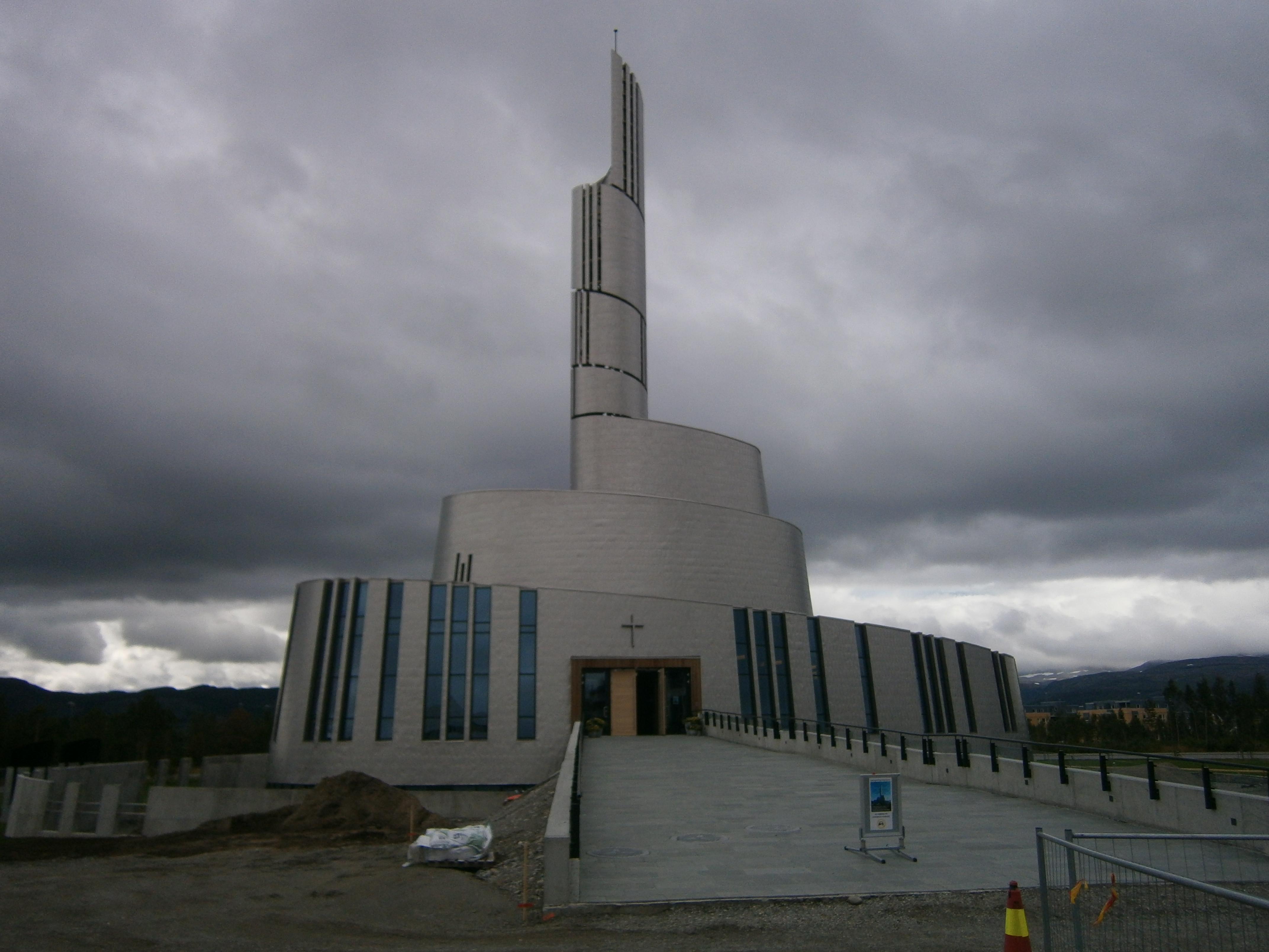 cattedrale di alta norvegia agosto 2014
