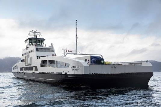 primo traghetto elettrico 100 %